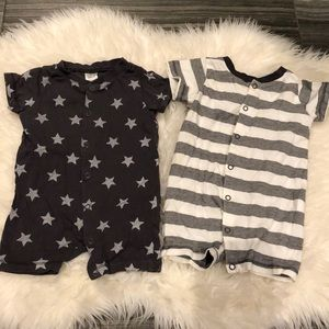 H&M bundle onesie shorts